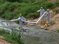 В городе Пасир-Гуданг, расположенном на юге материковой части Малайзии, в реку Сунгай-Ким-Ким попали опасные химикаты, из-за паров которых пострадало большое количество жителей