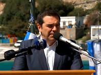Алексис Ципрас на острове Агатонисион, 25 марта 2019 годв