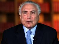 Сотрудники федеральной полиции Бразилии арестовали в четверг в Сан-Паулу 77-летнего экс-президента страны Мишела Темера