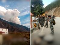 При тушении лесного пожара в китайской провинции Сычуань погибли 26 пожарных