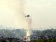 После тушения пожара останки погибших были найдены на пепелище. Огонь тушили с использованием вертолета, но дом сгорел почти полностью