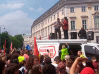 В Вене несколько тысяч демонстрантов потребовали провести новые выборы после скандальной отставки вице-канцлера