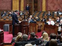 """Во время выступления в парламенте Вучич заявил, что Сербия больше не контролирует ситуацию в Косово. Он сообщил, что """"решил не продолжать ложь и самообман"""""""