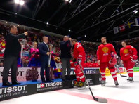 В матче за третье место сборная России в Братиславе одолела команду Чехии. Основное и дополнительное время завершились вничью со счетом 2:2