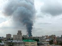 В Москве выгорело 4-этажное здание у Павелецкого вокзала: есть пострадавшие. Не исключен поджог