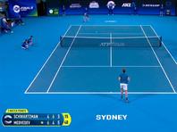 Сборная России по теннису вышла в полуфинал ATP Cup