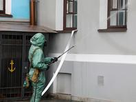 Военнослужащие общевойсковой армии ЗВО провели специальную обработку учебных заведений Санкт-Петербурга