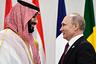 Мухаммед ибн Салман Аль Сауд и Владимир Путин