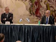 """В Израиле Кнессет утвердил в воскресенье состав 35-го коалиционного правительства Израиля, сформированного по итогам выборов 2 марта премьер-министром Биньямином Нетаньяху в коалиции с лидером партии """"Кахоль-Лаван"""" и бывшим главой Генштаба Бени Ганцем"""